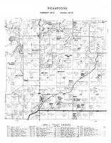 Richardson Township, Morrison County 1958